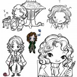 Eighth Doctor chibis