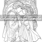 Be Mine Always -Coloring Page