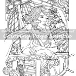 Freedom Bound -Coloring Page