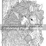 Friendship -Coloring Page