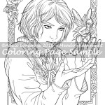 Fairy Thief -Coloring Page