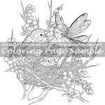 Get Your Own Chick! -Coloring Page