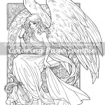 Heart of Gold -Coloring Page