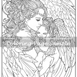 A Mother's Love -Coloring Page