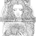 Timeless -Coloring Page